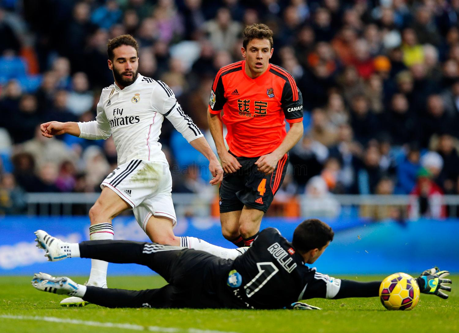Real Madrid - Real Madrid - Real Sociedad - 31-01-2015