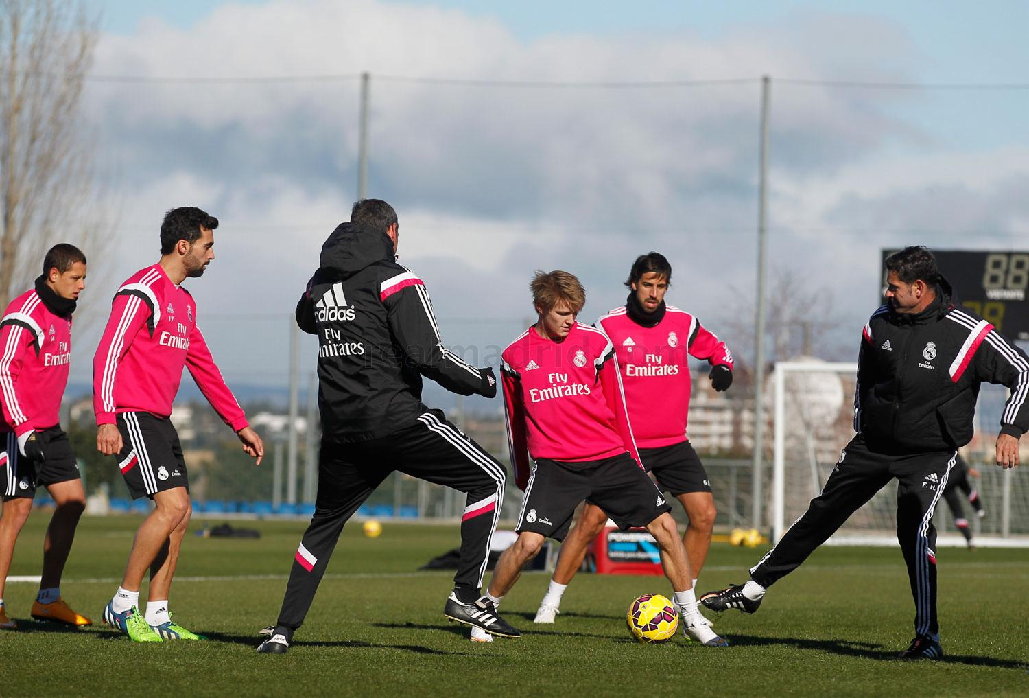 Real Madrid - Entrenamiento del Real Madrid - 01-02-2015