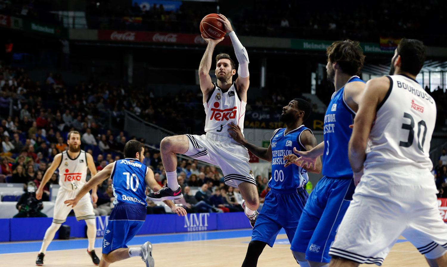 Real Madrid - Real Madrid - Gipuzkoa Basket - 01-02-2015