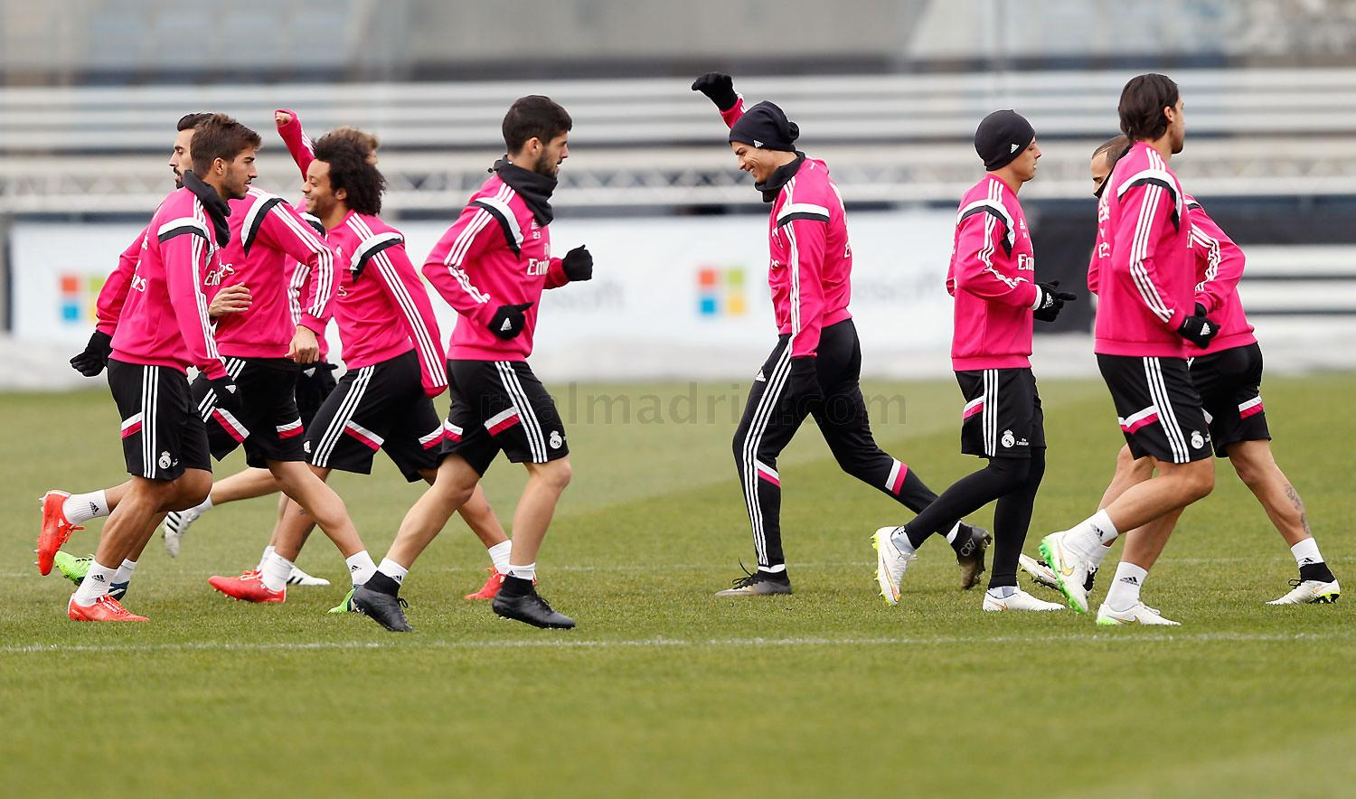 Real Madrid - Entrenamiento del Real Madrid - 02-02-2015