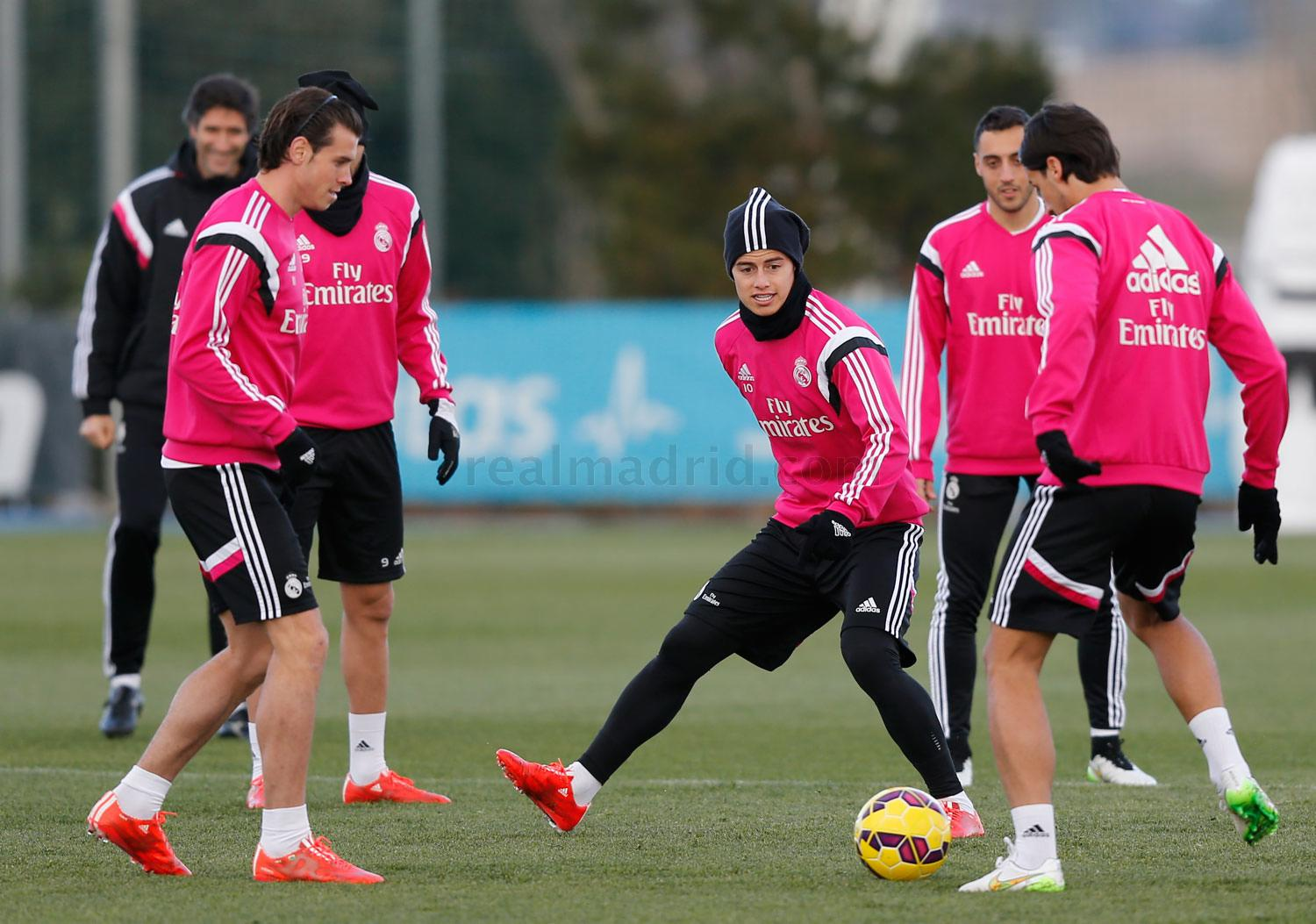 Real Madrid - Entrenamiento del Real Madrid - 03-02-2015