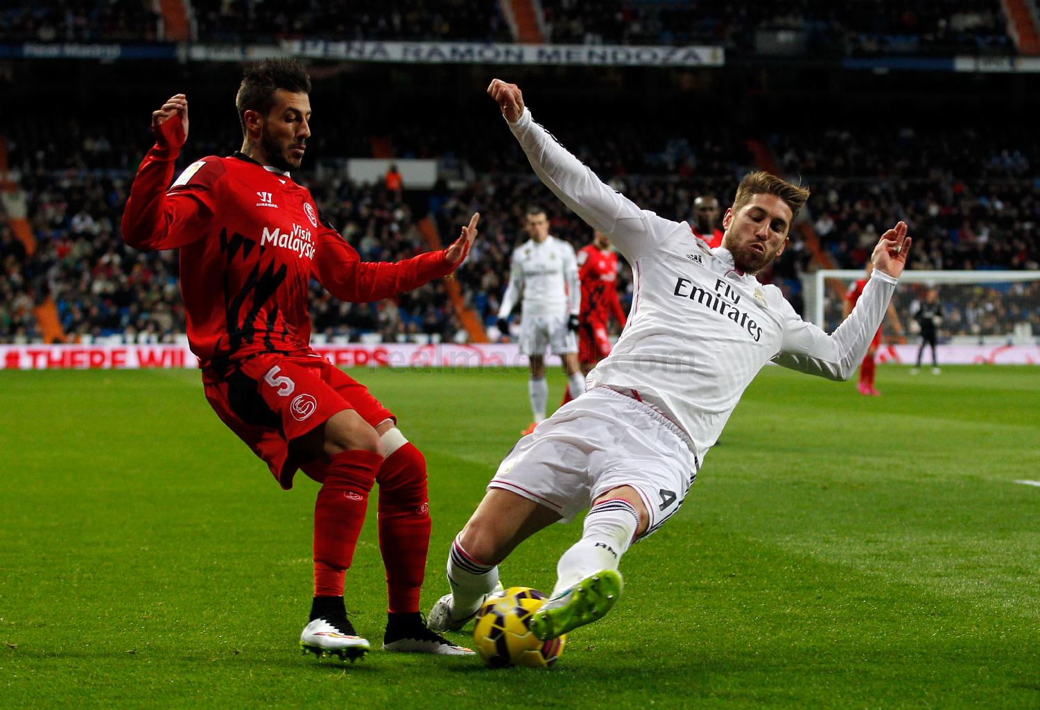 Real Madrid - Real Madrid - Sevilla - 04-02-2015