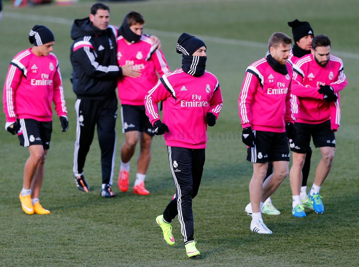 Real Madrid - Entrenamiento del Real Madrid - 05-02-2015