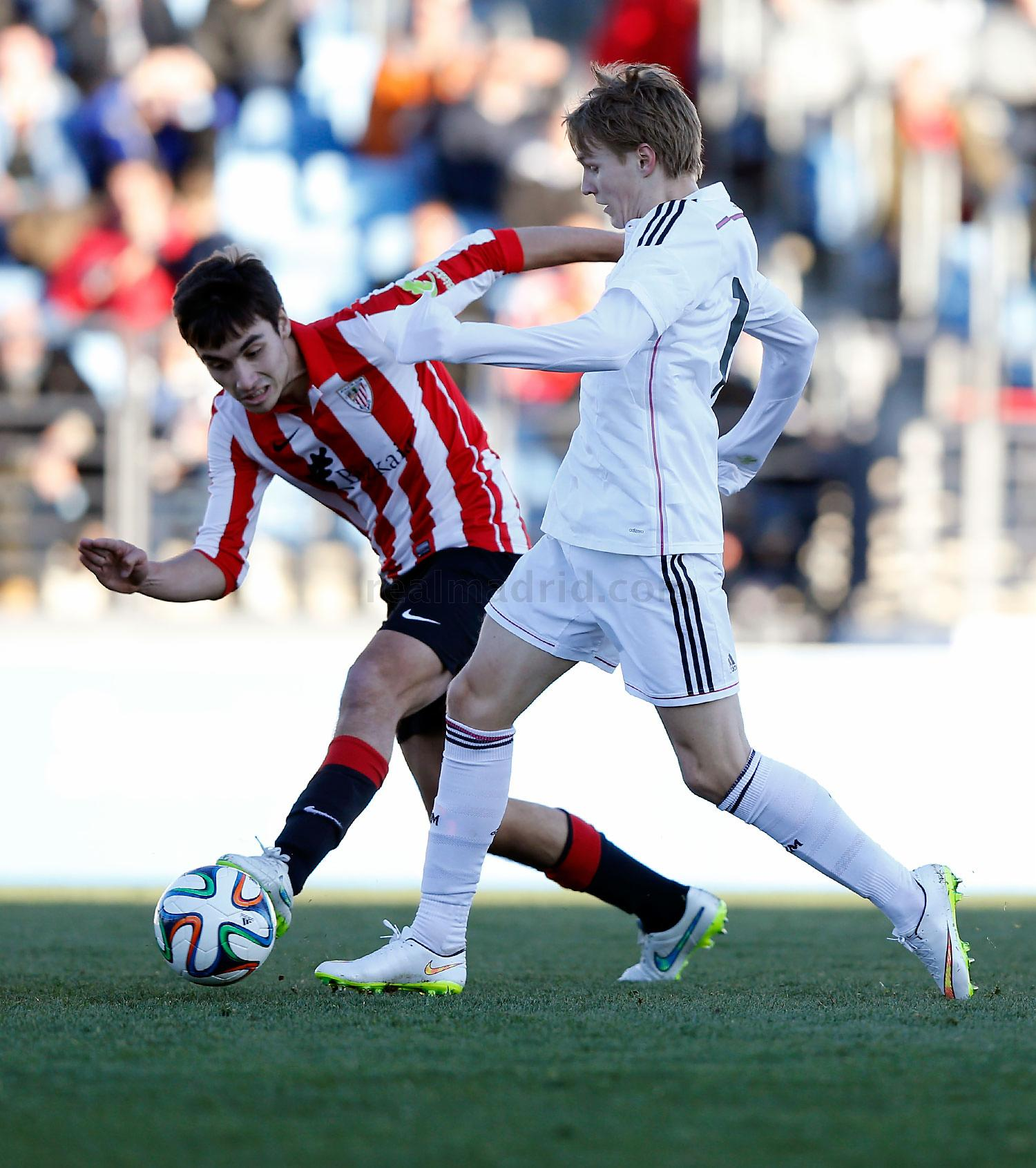 Real Madrid - Real Madrid Castilla - Athletic Club B - 08-02-2015