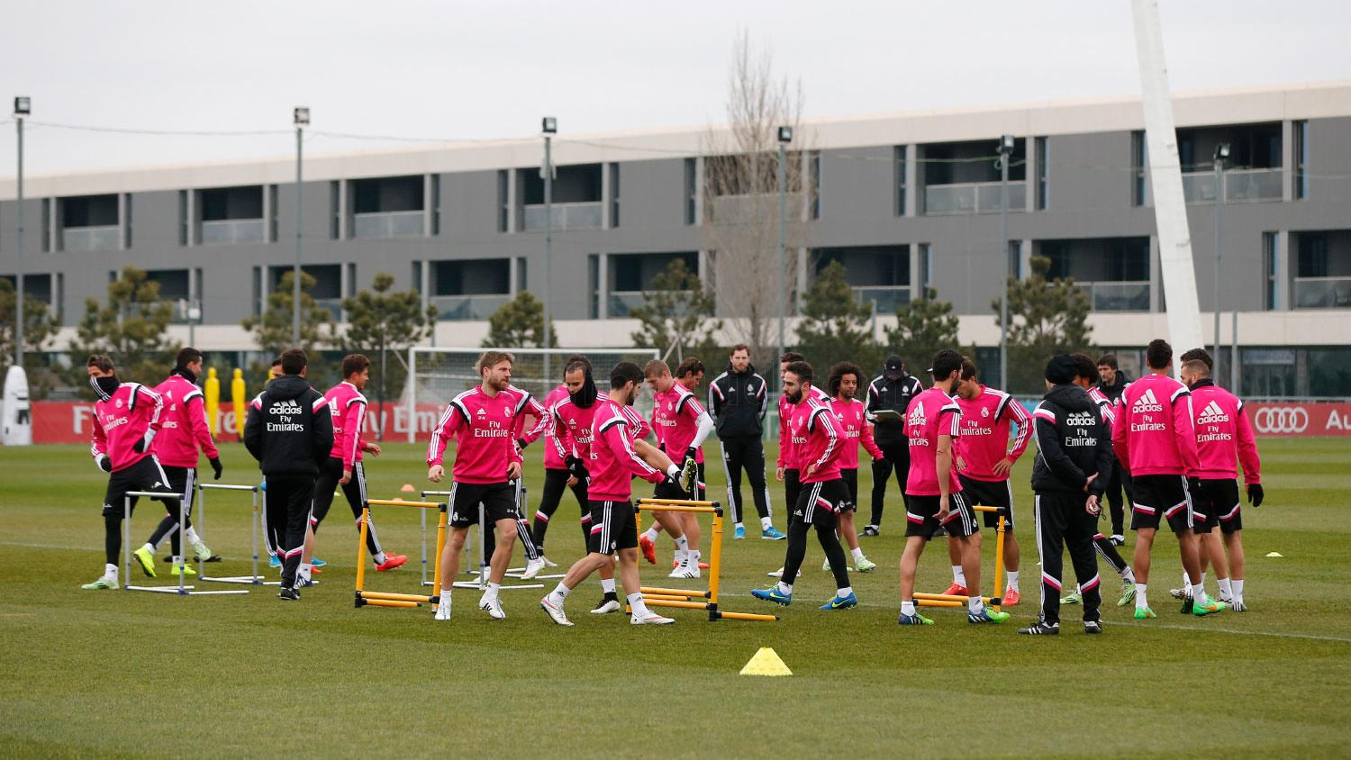 Real Madrid - Entrenamiento del Real Madrid - 11-02-2015