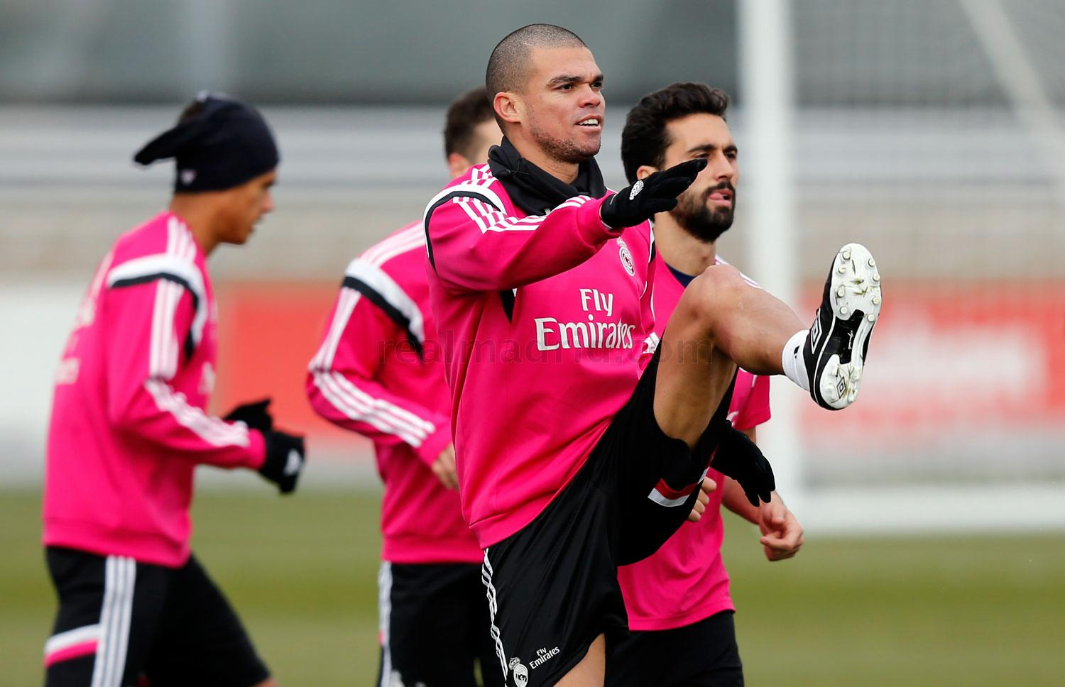 Real Madrid - Entrenamiento del Real Madrid - 12-02-2015