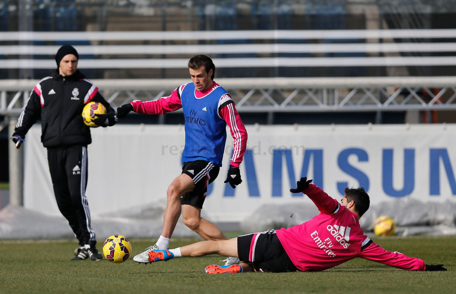 Real Madrid - Entrenamiento del Real Madrid - 13-02-2015