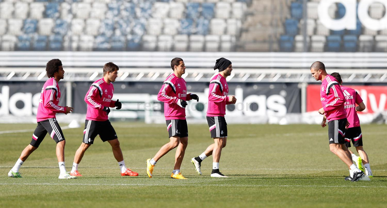 Real Madrid - Entrenamiento del Real Madrid - 15-02-2015