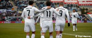 Getafe 0-3 Real Madrid