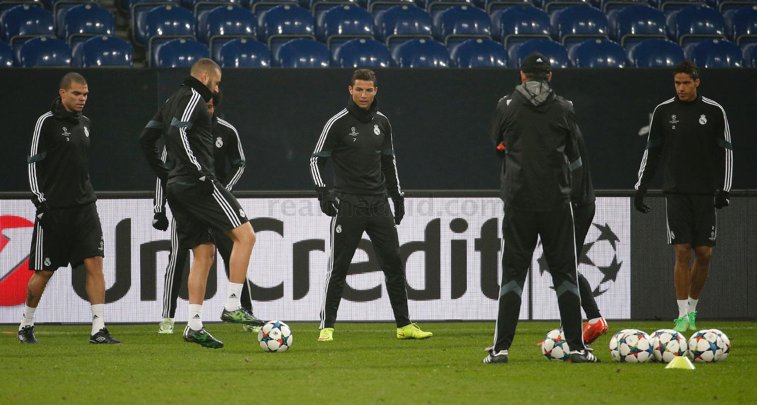 Real Madrid - Entrenamiento del Real Madrid - 17-02-2015