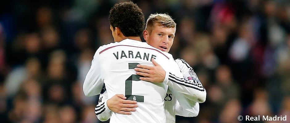 Image result for kroos and varane