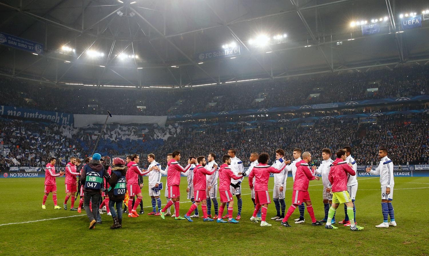 Real Madrid - Schalke 04 - Real Madrid - 18-02-2015