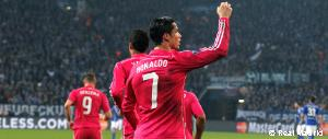 Cristiano Ronaldo third highest goalscorer in Real Madrid's history