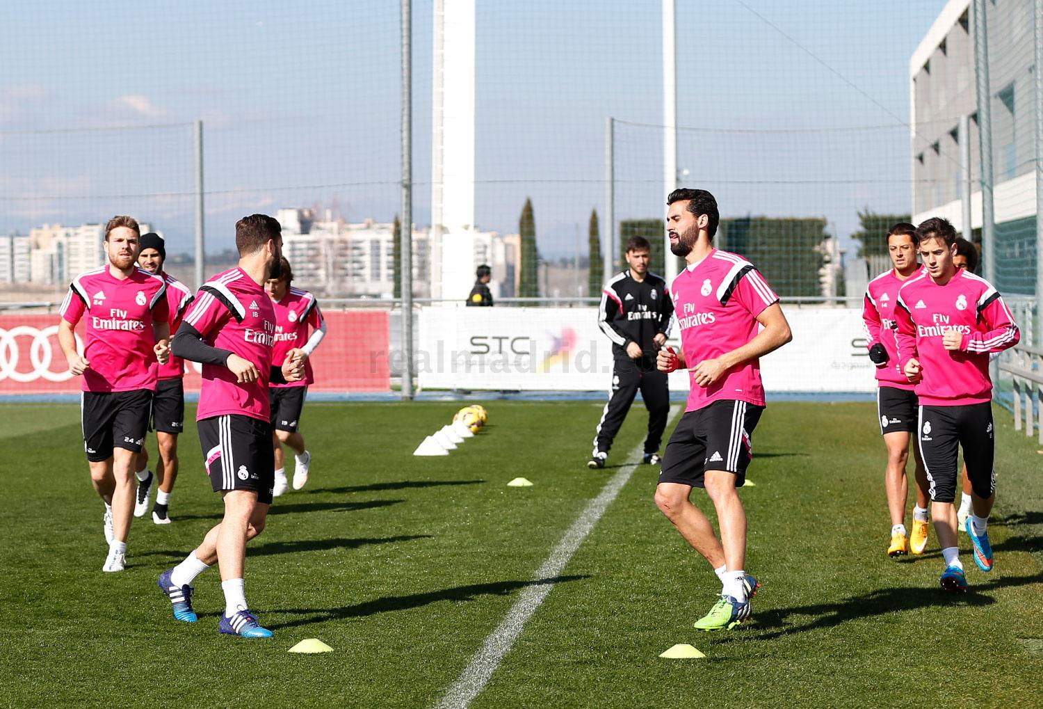 Real Madrid - Entrenamiento del Real Madrid - 19-02-2015