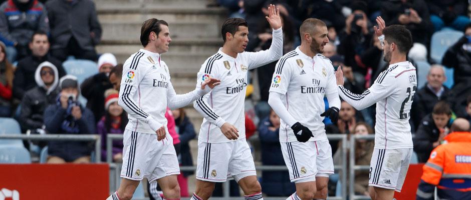 The BBC's 50 goals in La Liga
