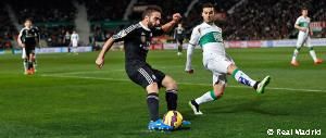 Carvajal reaches 50 league appearances with Real Madrid