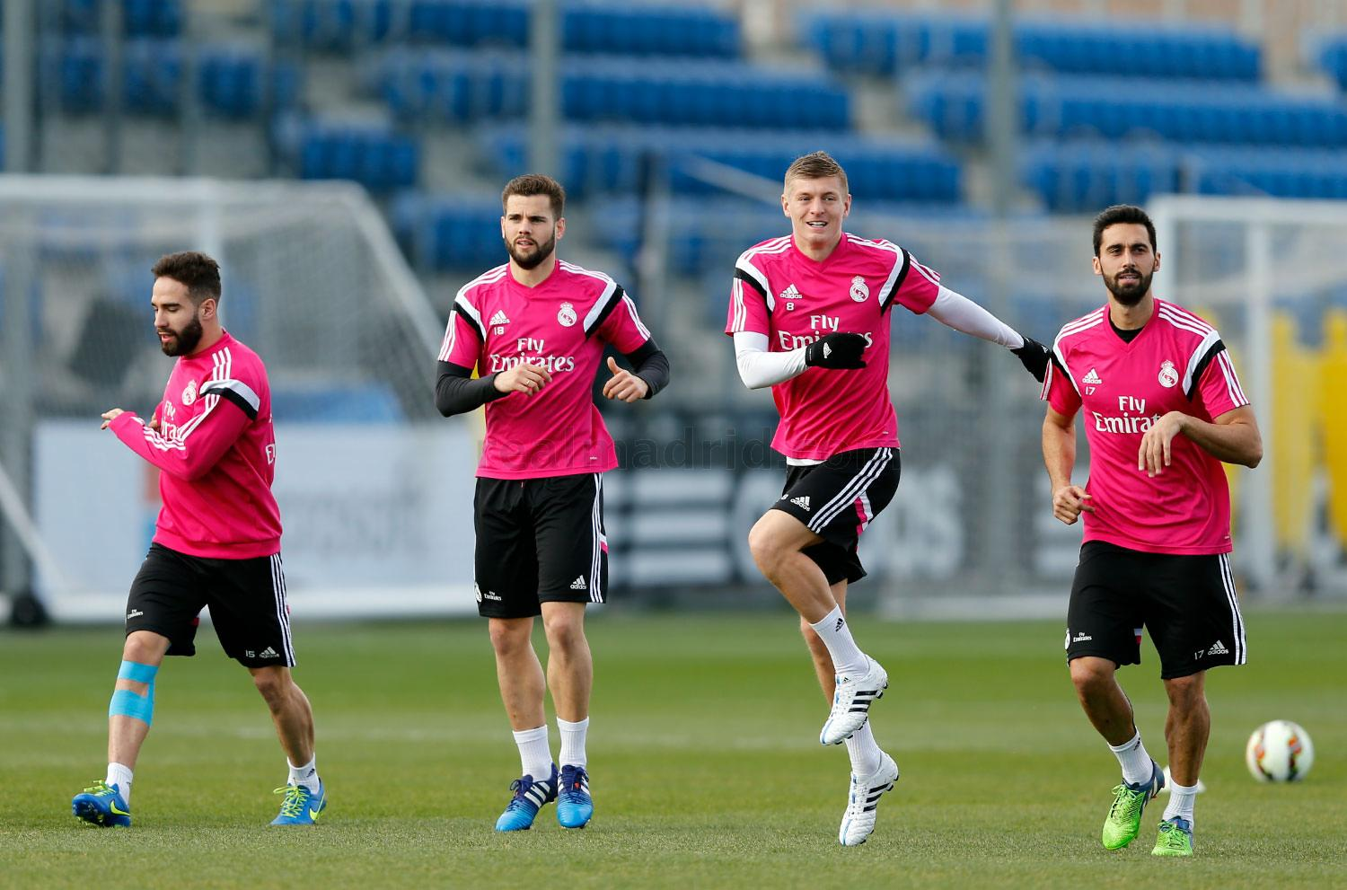 Real Madrid - Entrenamiento del Real Madrid - 26-02-2015