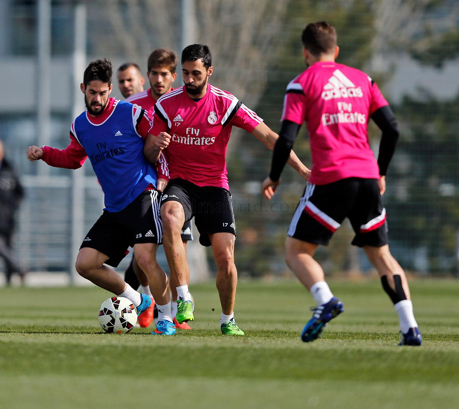 Real Madrid - Entrenamiento del Real Madrid - 28-02-2015