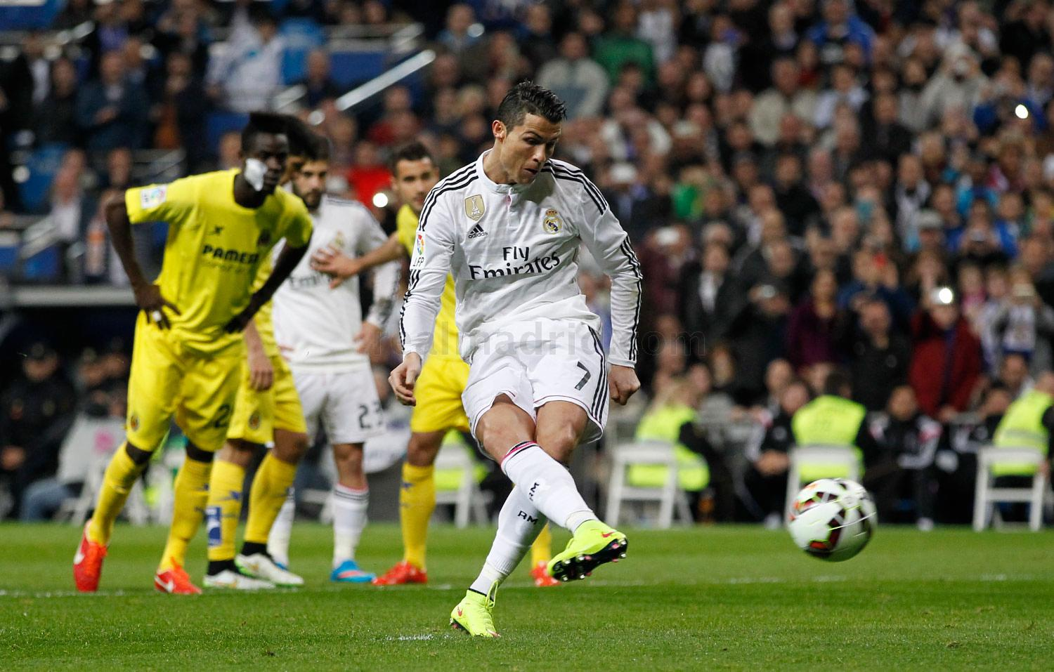 Real Madrid - Real Madrid - Villarreal - 01-03-2015