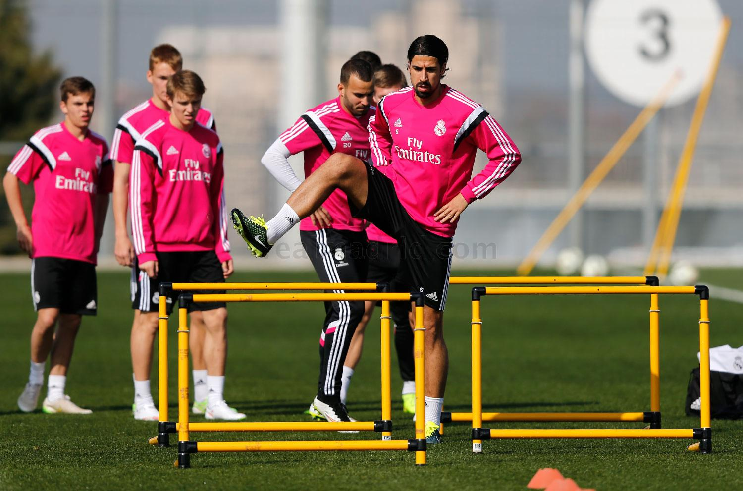 Real Madrid - Entrenamiento del Real Madrid - 03-03-2015
