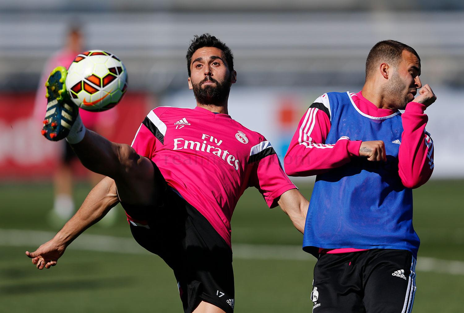 Real Madrid - Entrenamiento del Real Madrid - 04-03-2015