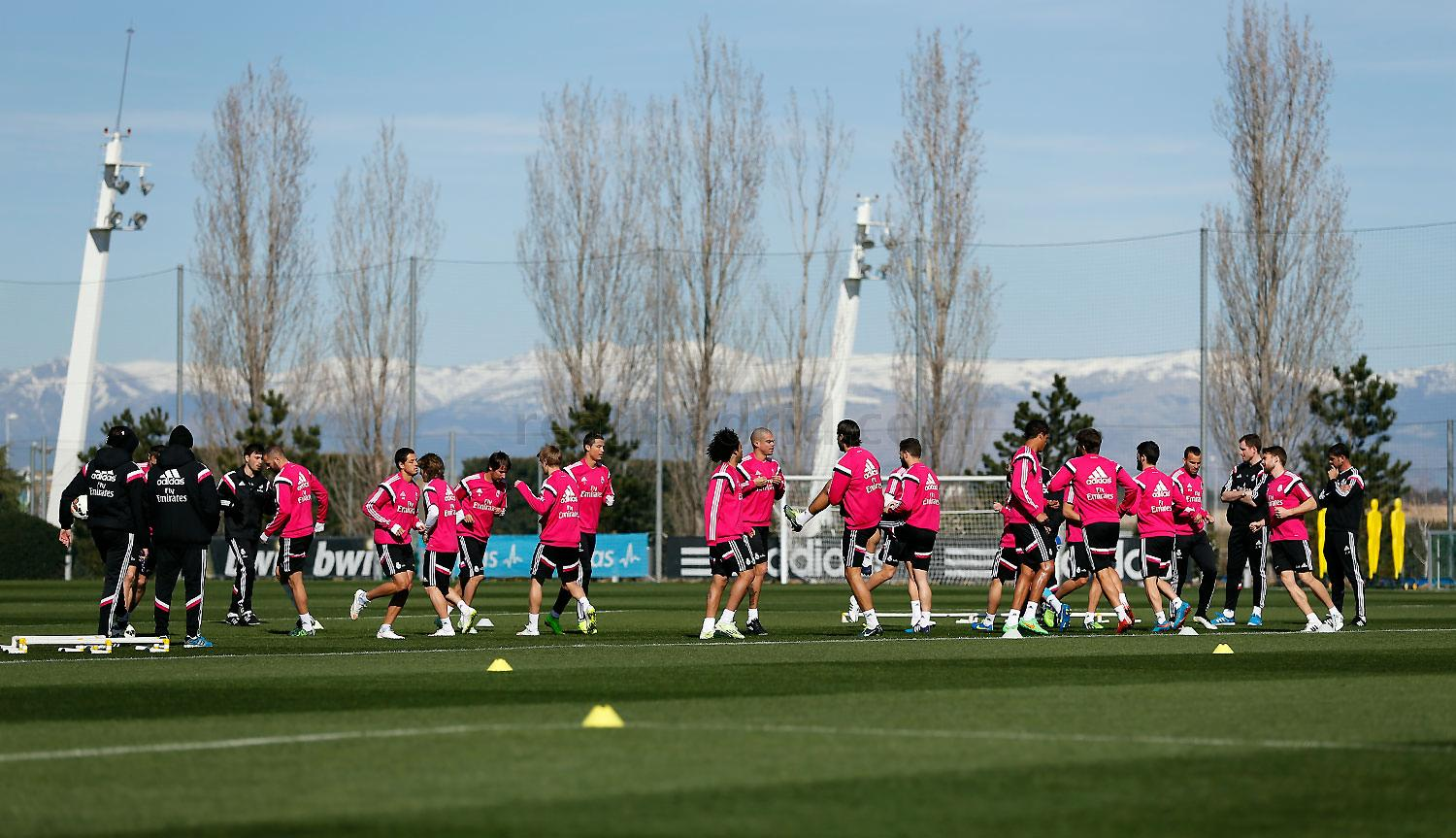 Real Madrid - Entrenamiento del Real Madrid - 05-03-2015