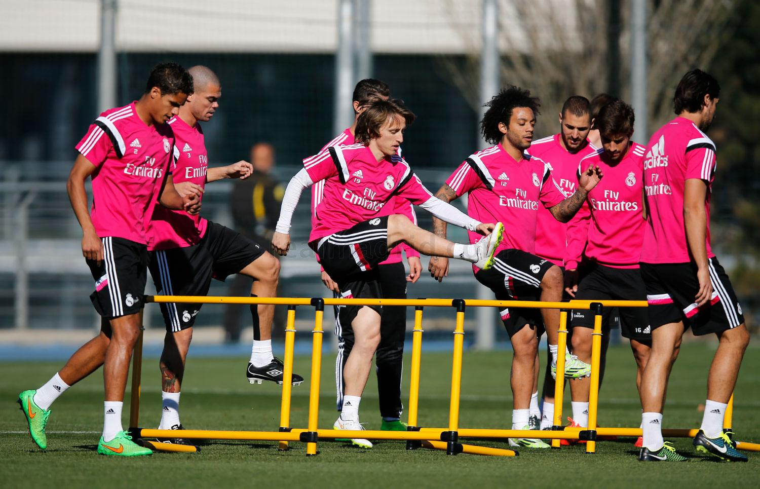 Real Madrid - Entrenamiento del Real Madrid - 06-03-2015