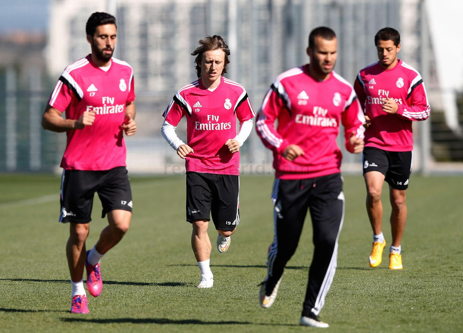Real Madrid - Entrenamiento del Real Madrid - 08-03-2015