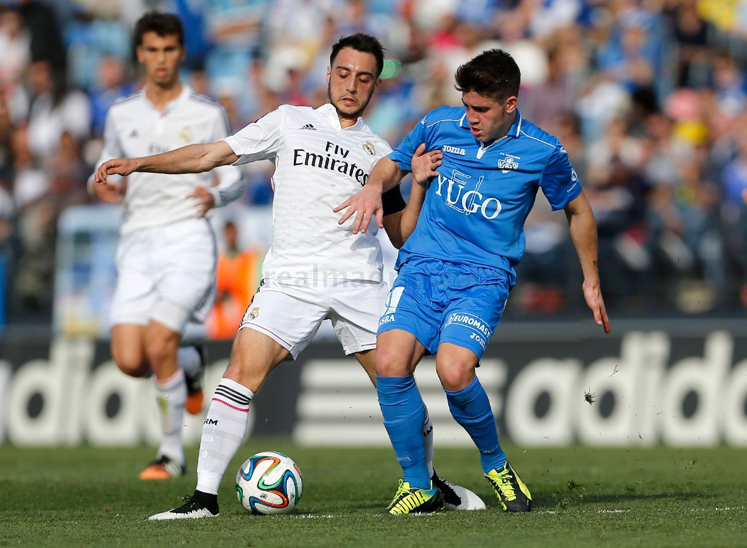 Real Madrid - Real Madrid Castilla - Yugo Socuéllamos - 08-03-2015