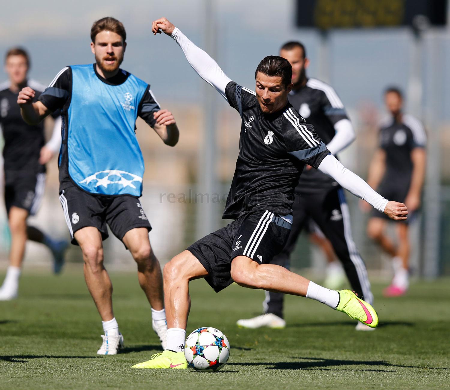 Real Madrid - Entrenamiento del Real Madrid - 09-03-2015
