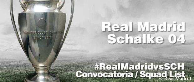 Convocatoria del Real Madrid