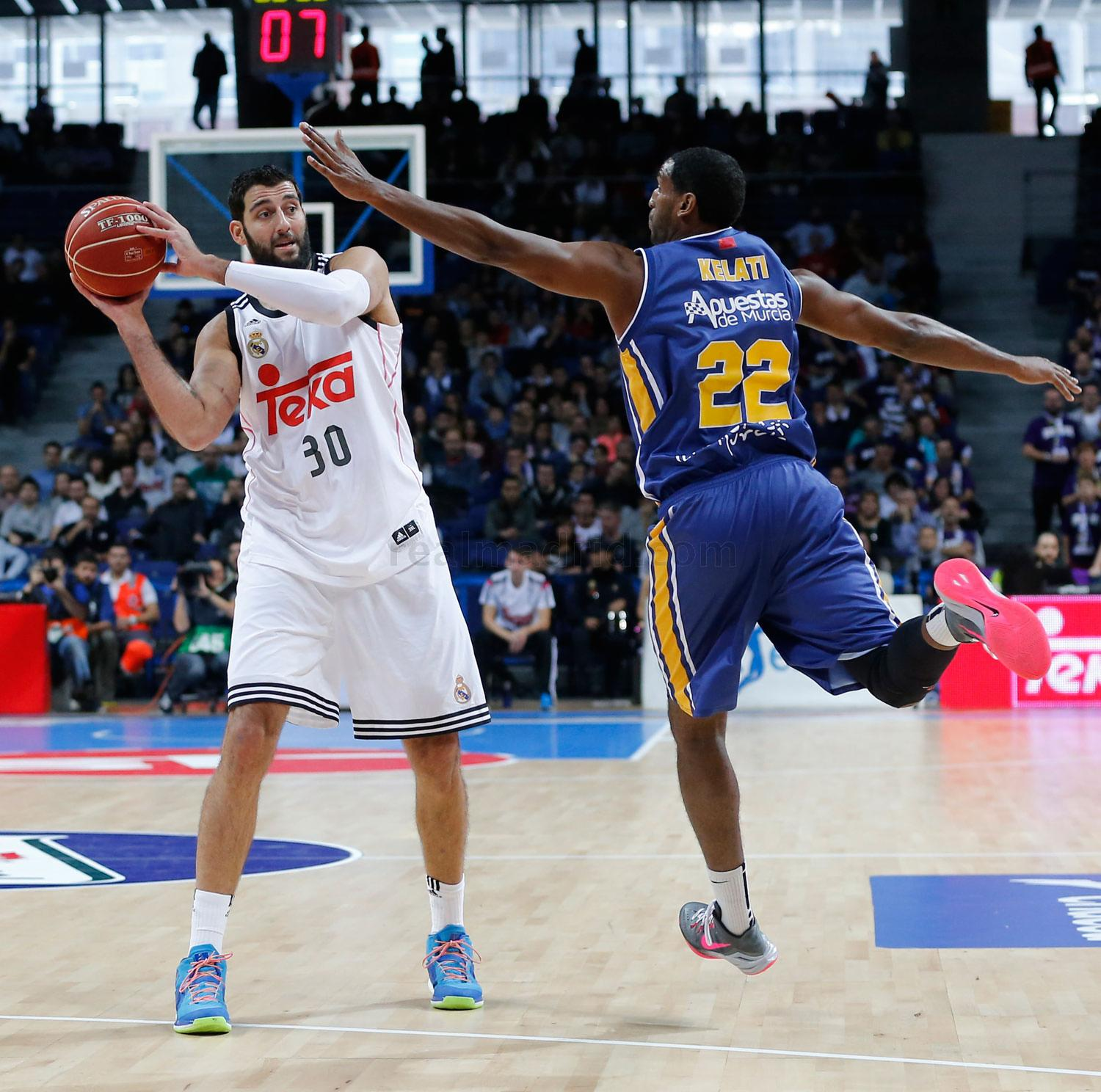 Real Madrid - Bourousis - 11-03-2015