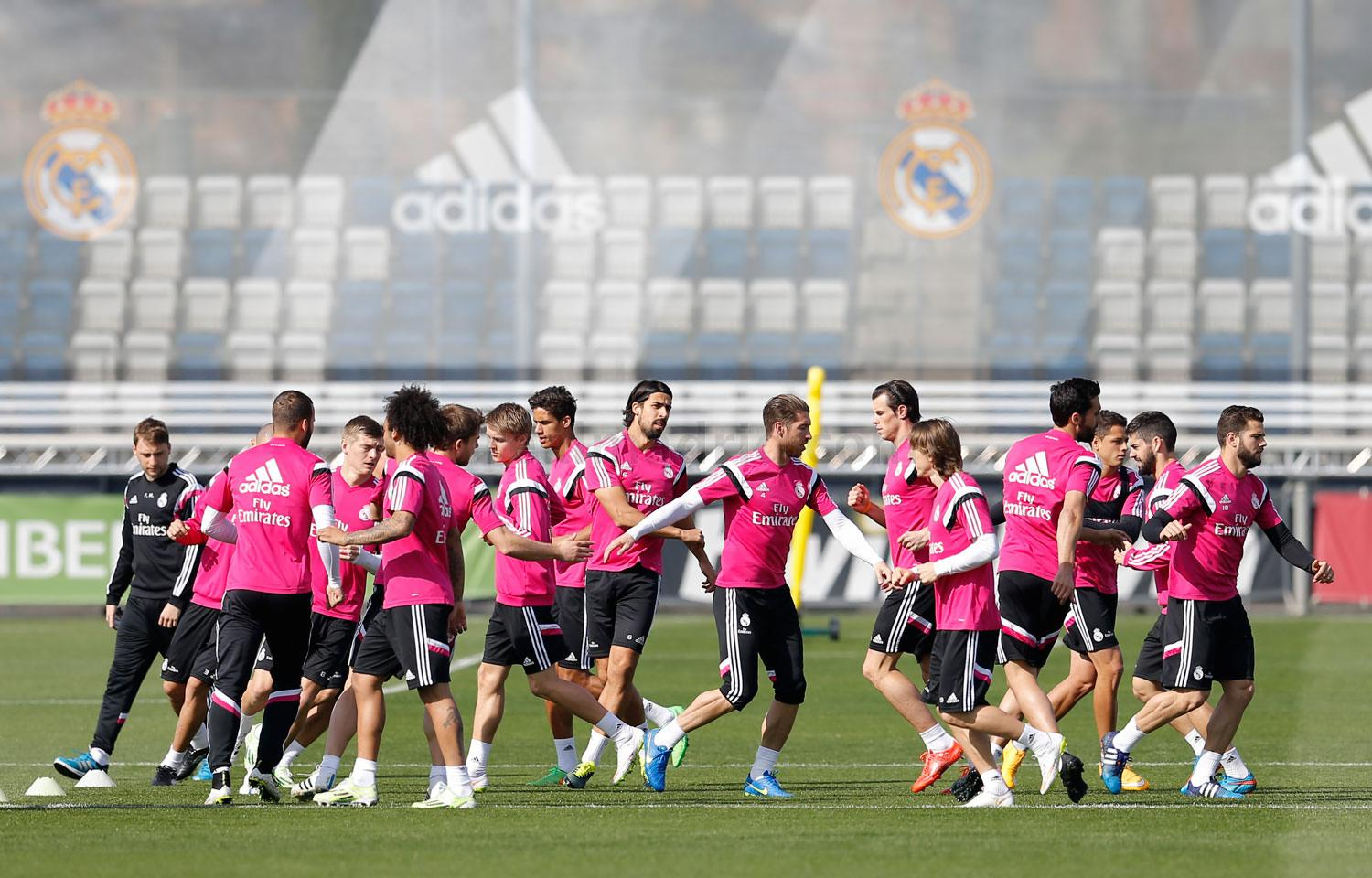 Real Madrid - Entrenamiento del Real Madrid - 12-03-2015