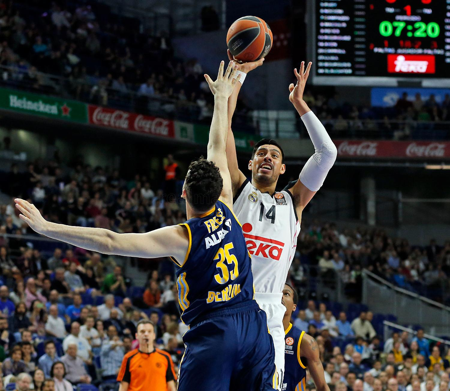 Real Madrid - Real Madrid - Alba Berlin - 12-03-2015