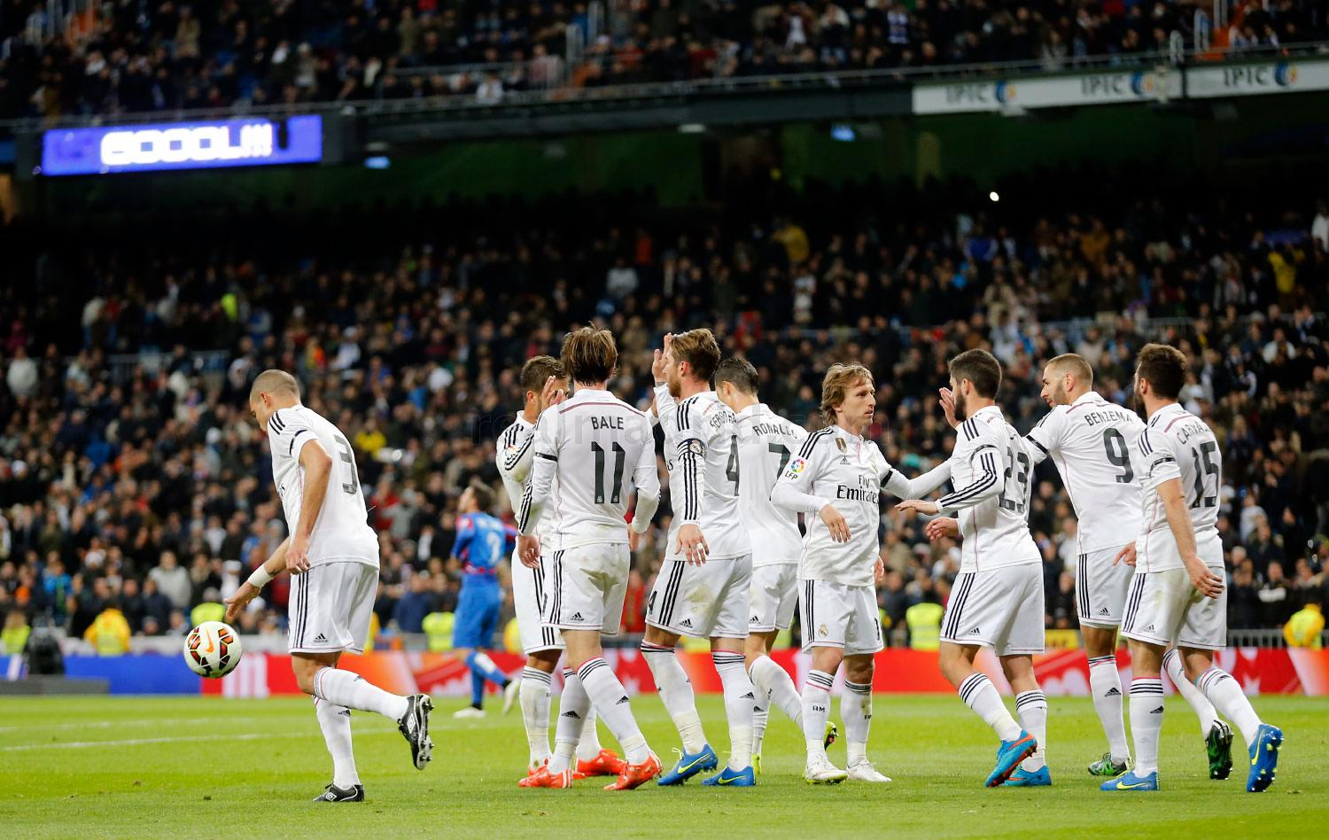 Real Madrid - Real Madrid - Levante - 15-03-2015