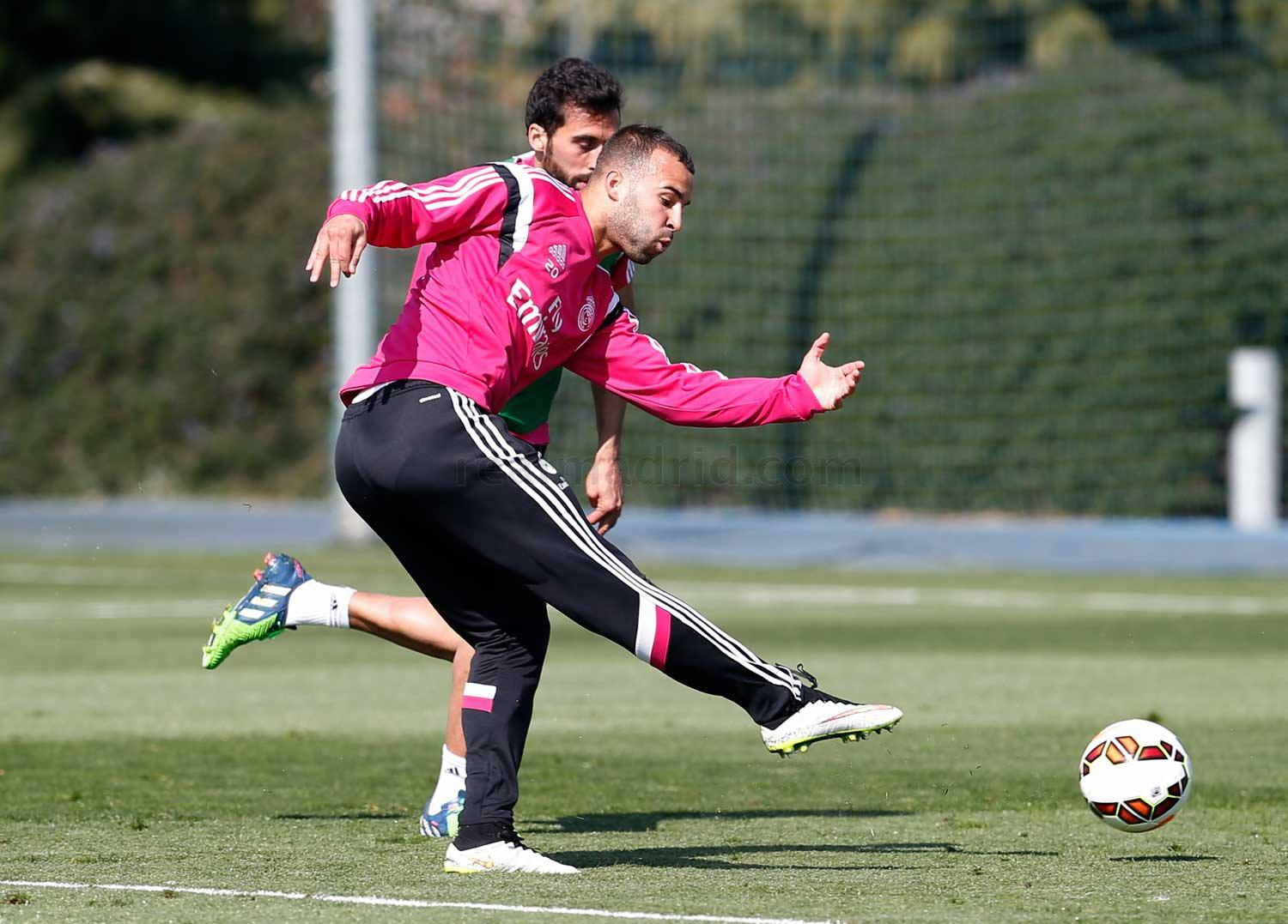 Real Madrid - Entrenamiento del Real Madrid - 16-03-2015