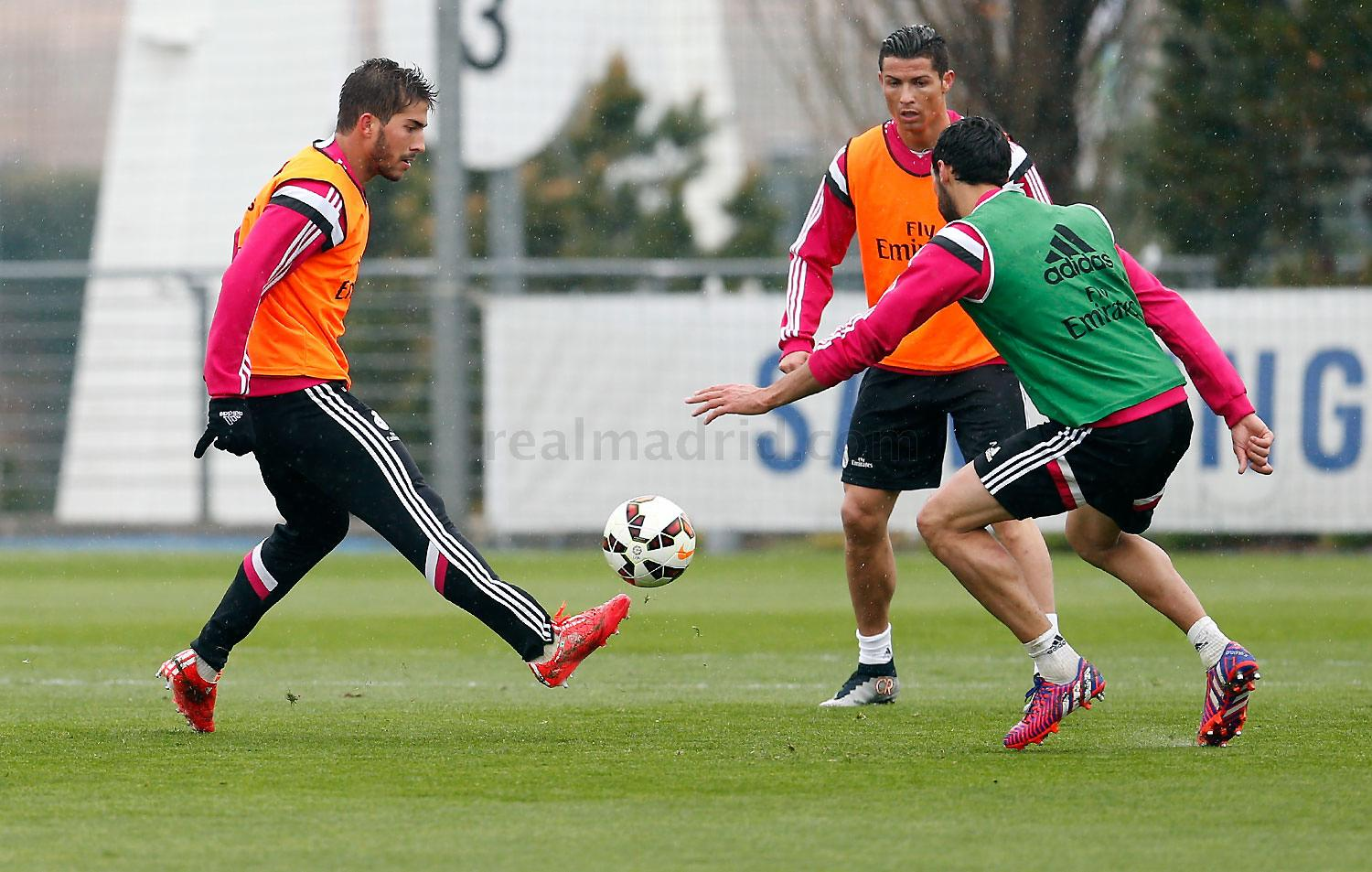 Real Madrid - Entrenamiento del Real Madrid - 18-03-2015