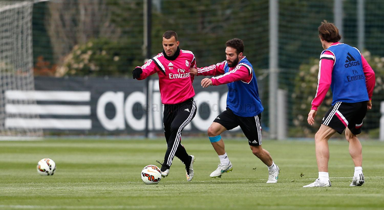 Real Madrid - Entrenamiento del Real Madrid - 19-03-2015