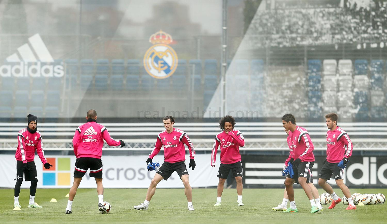 Real Madrid - Entrenamiento del Real Madrid - 20-03-2015