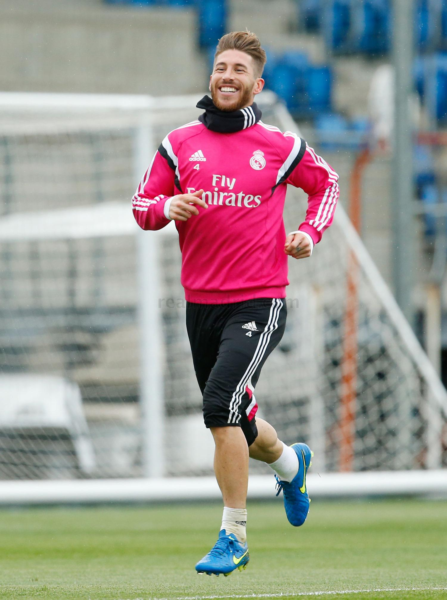 Real Madrid - Entrenamiento del Real Madrid - 21-03-2015