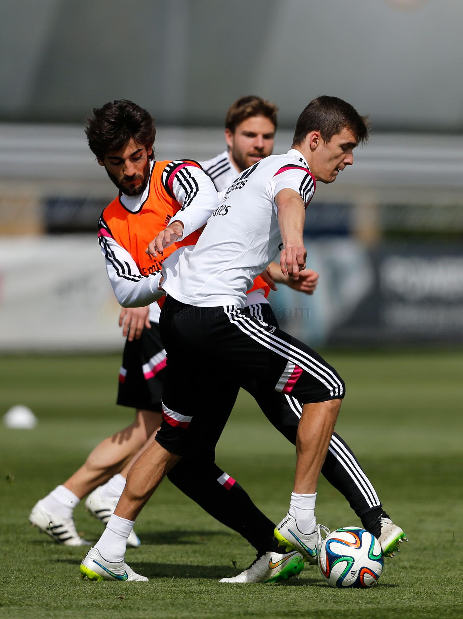 Real Madrid - Entrenamiento del Real Madrid - 26-03-2015