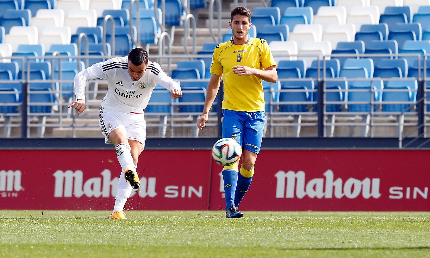 Real Madrid - Real Madrid Castilla - Las Palmas Atlético - 29-03-2015