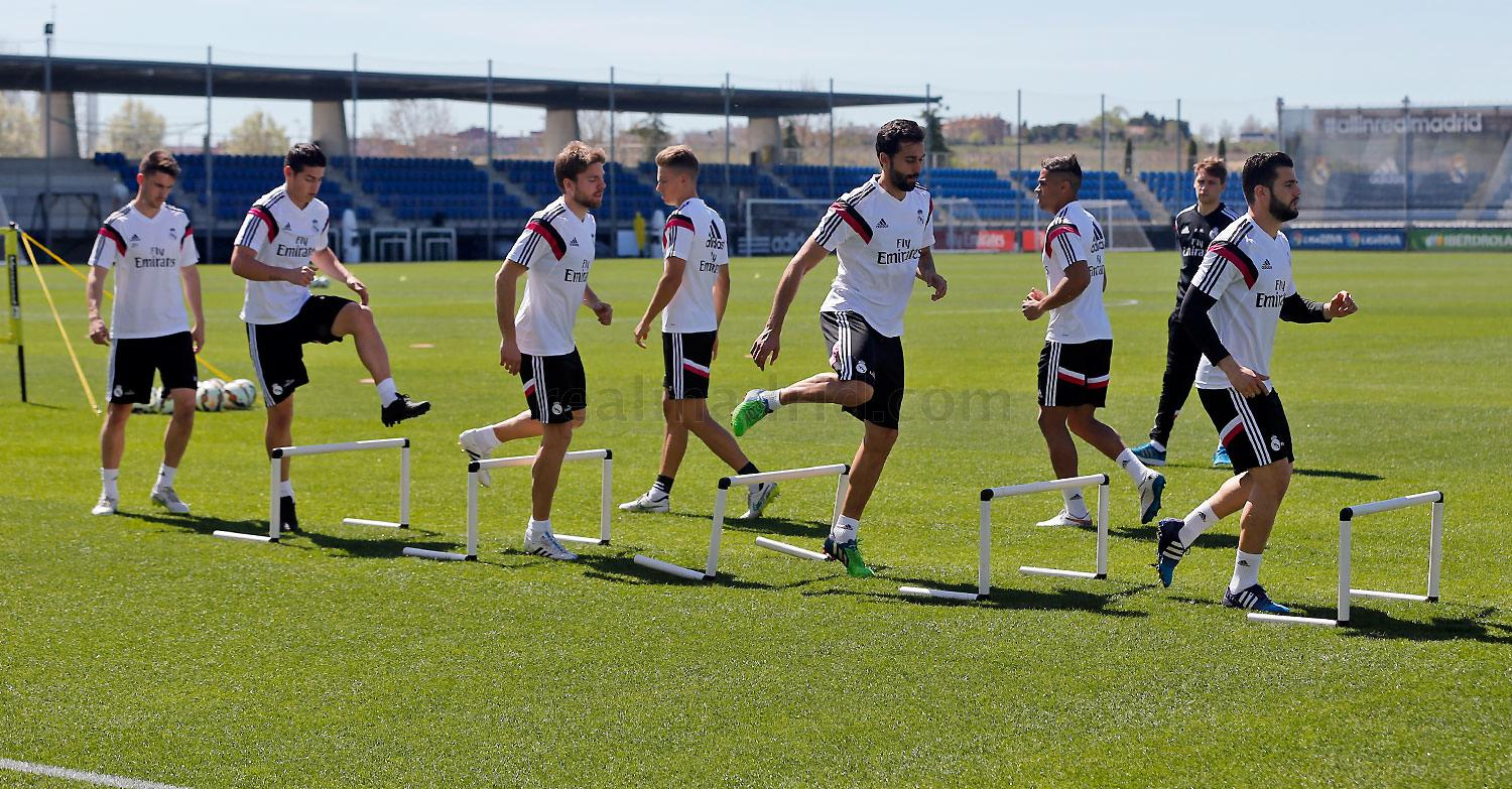 Real Madrid - Entrenamiento del Real Madrid - 30-03-2015
