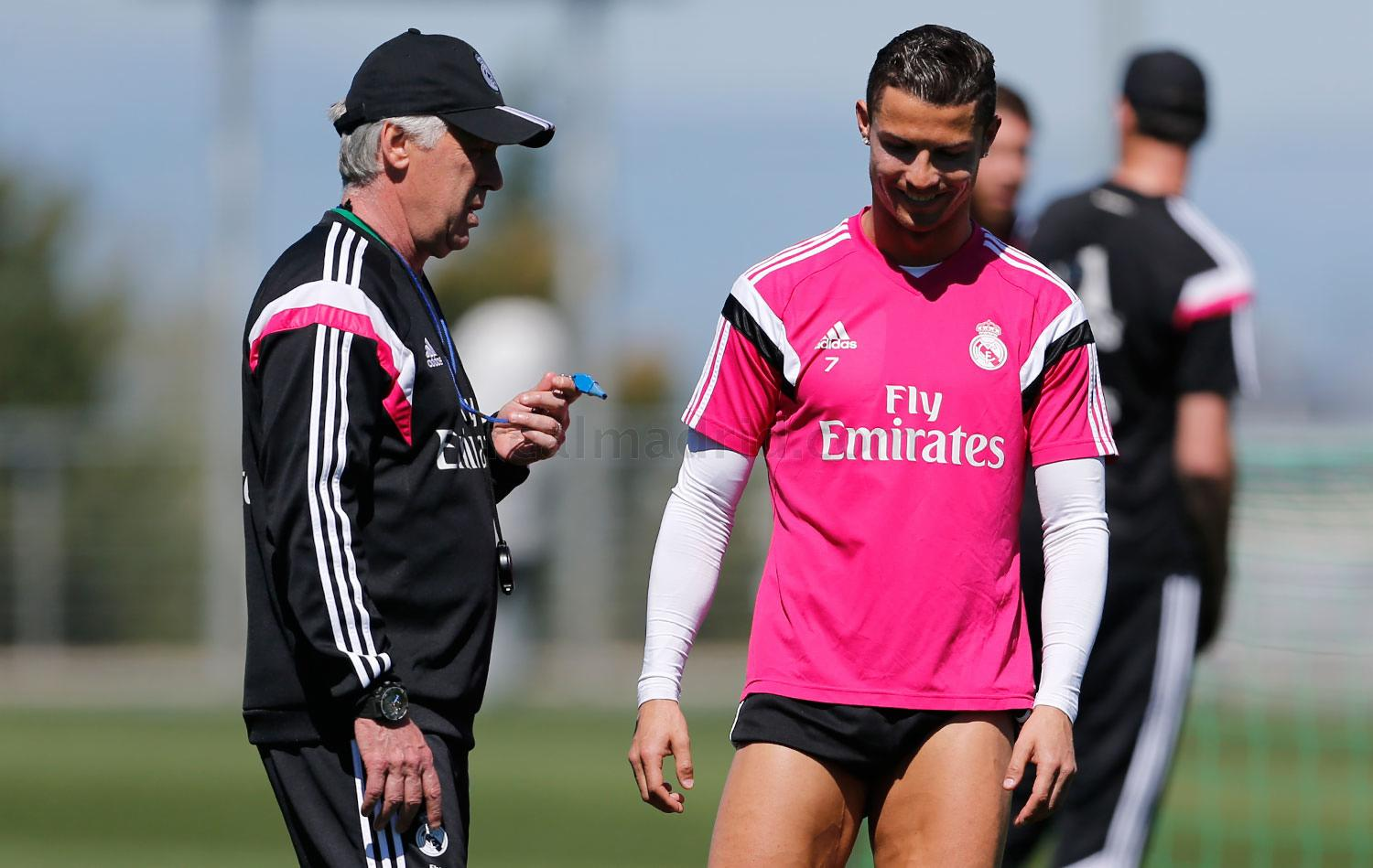 Real Madrid - Entrenamiento del Real Madrid - 01-04-2015