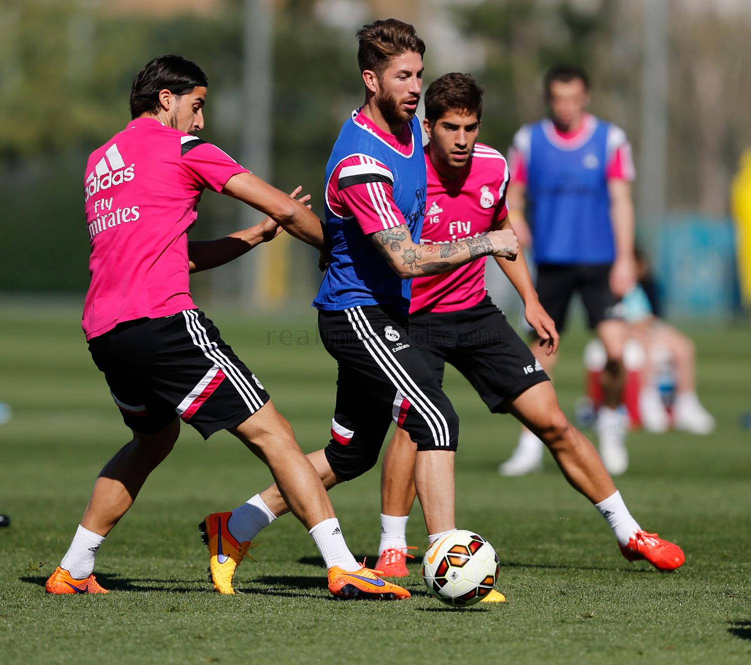 Real Madrid - Entrenamiento del Real Madrid - 02-04-2015