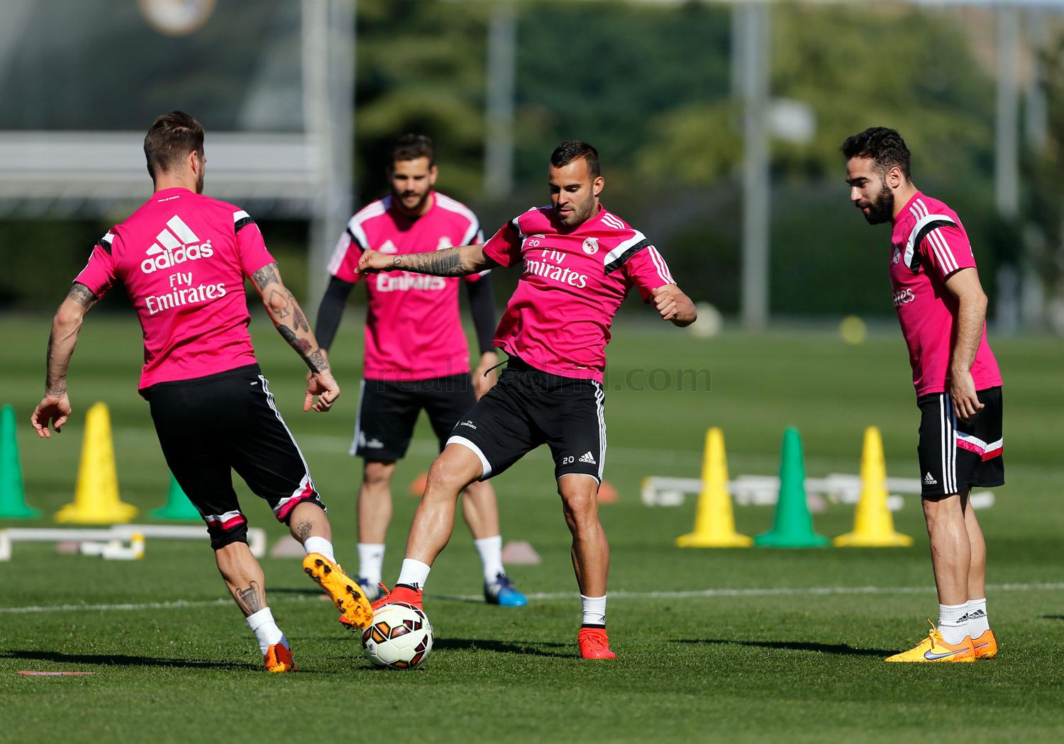 Real Madrid - Entrenamiento del Real Madrid - 04-04-2015