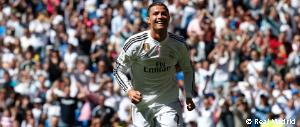Cristiano Ronaldo's five goals haul against Granada