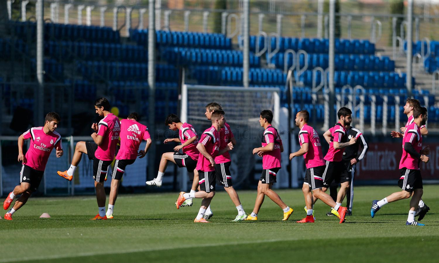 Real Madrid - Entrenamiento del Real Madrid - 06-04-2015