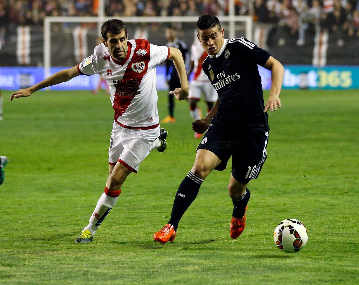 Real Madrid - Rayo Vallecano - Real Madrid - 08-04-2015
