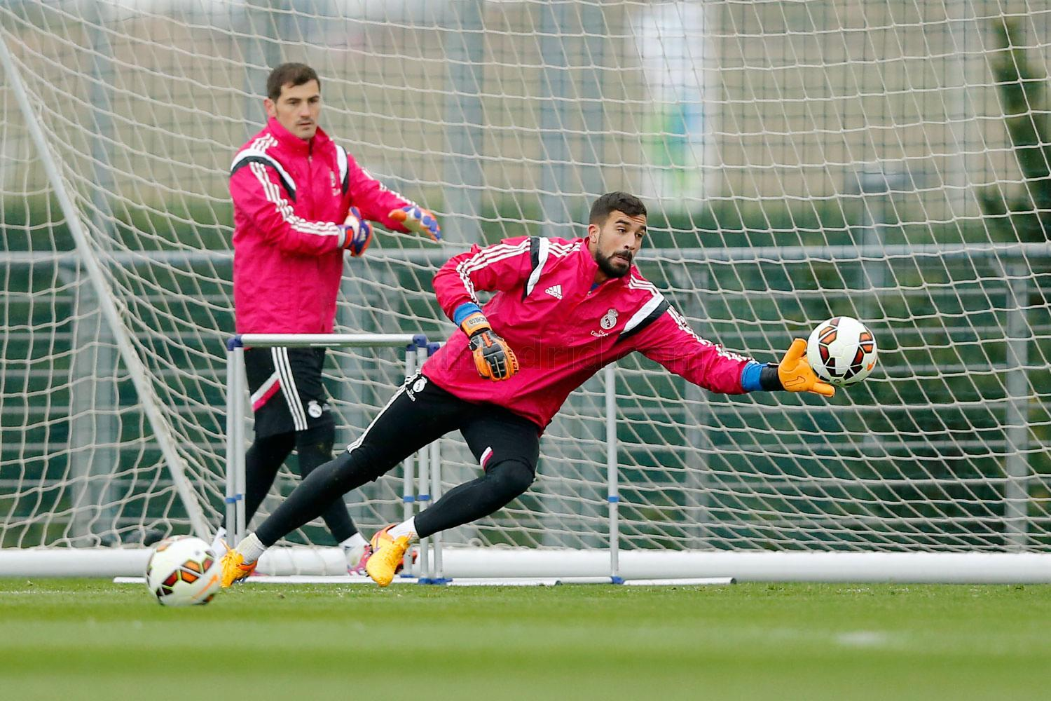 Real Madrid - Entrenamiento del Real Madrid - 09-04-2015